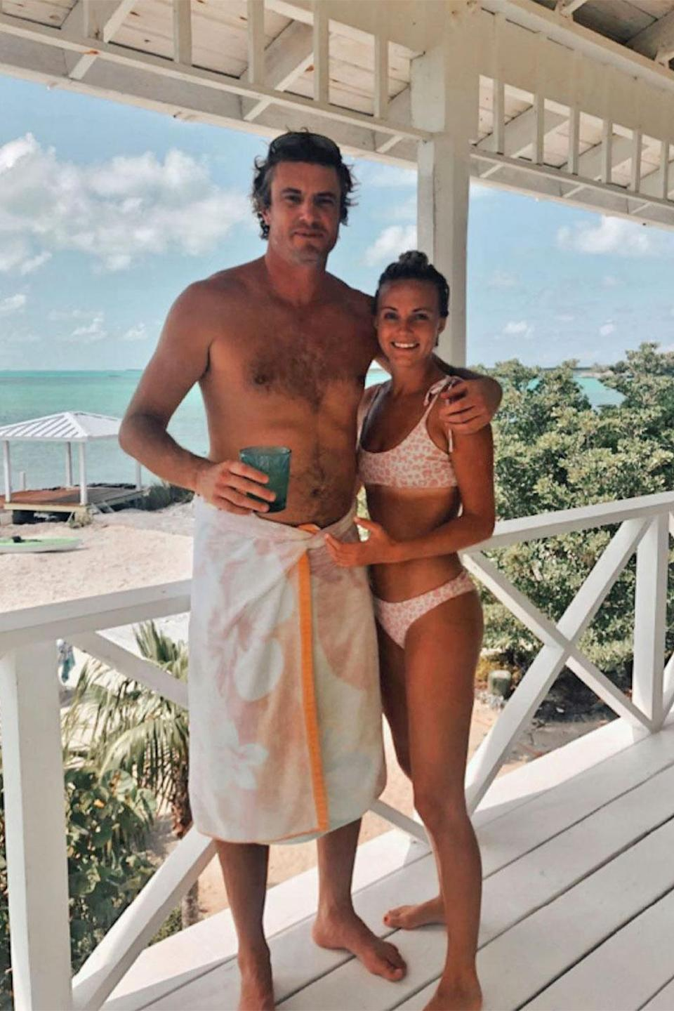 """<p>The idea of leaving bachelorhood behind for good has become much easier for the <em>Southern Charm</em> star since dating <a href=""""https://people.com/tv/southern-charms-shep-rose-goes-instagram-official-with-new-girlfriend/"""" rel=""""nofollow noopener"""" target=""""_blank"""" data-ylk=""""slk:girlfriend Taylor Ann Green"""" class=""""link rapid-noclick-resp"""">girlfriend Taylor Ann Green</a>. Rose revealed on <a href=""""http://people.com/tag/watch-what-happens-live"""" rel=""""nofollow noopener"""" target=""""_blank"""" data-ylk=""""slk:Watch What Happens Live with Andy Cohen"""" class=""""link rapid-noclick-resp""""><em>Watch What Happens Live with Andy Cohen</em></a> that the two are <a href=""""https://people.com/tv/southern-charm-shep-rose-talks-monogamy-quarantining-with-taylor-ann-green/"""" rel=""""nofollow noopener"""" target=""""_blank"""" data-ylk=""""slk:currently quarantining together"""" class=""""link rapid-noclick-resp"""">currently quarantining together</a> and Rose has been enjoying relation-<em>shep</em> life.</p> <p>""""Honestly, we were like a married couple two or three months into our relationship, so, that was a change and I was kind of nervous about it — but I must say, domesticity isn't all that bad, and maybe I was being scared of it for no reason at all,"""" he said.</p>"""