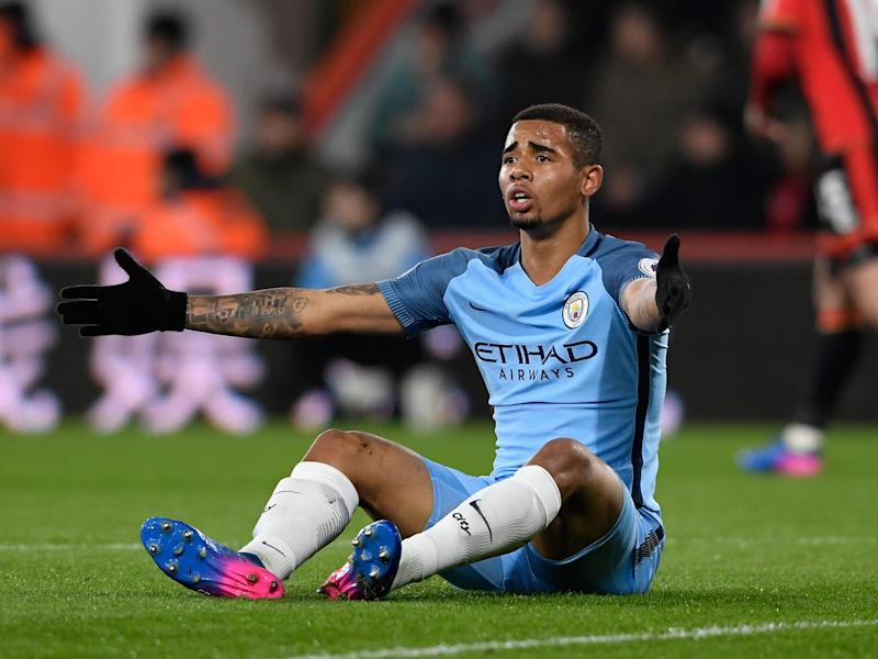 Gabriel Jesus is set to return to Manchester City's squad for the match with Arsenal