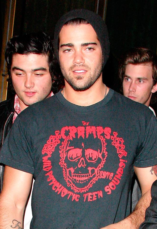 "Who knew former ""Desperate Housewives"" hunk, Jesse Metcalfe, was into punk? AlphaX/<a href=""http://www.x17online.com"" target=""new"">X17 Online</a> - January 22, 2009"