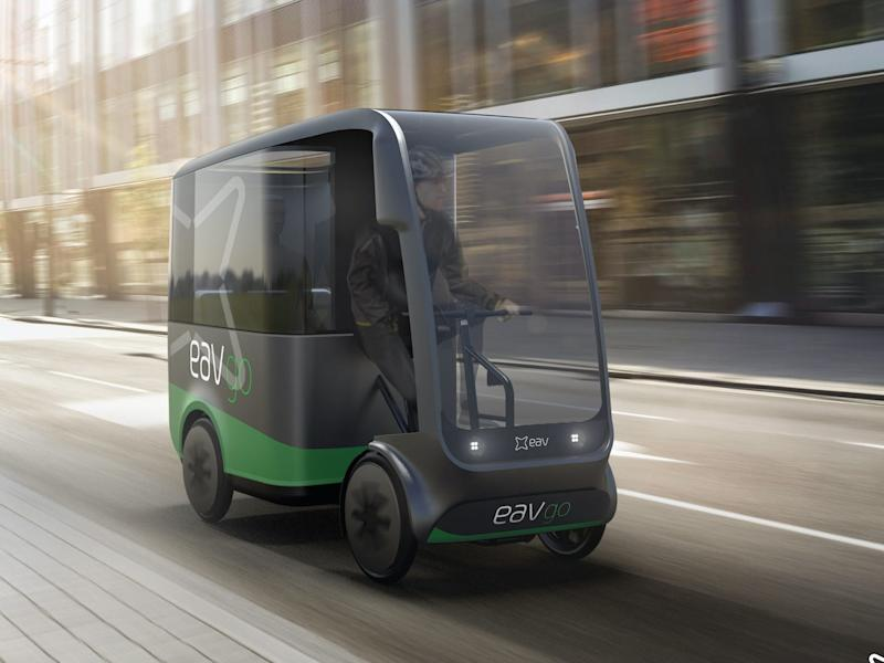 The maker of this tiny electric taxi says it could cut traffic in half in 5 years