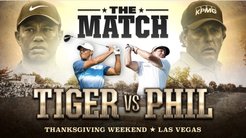 tiger woods vs phil