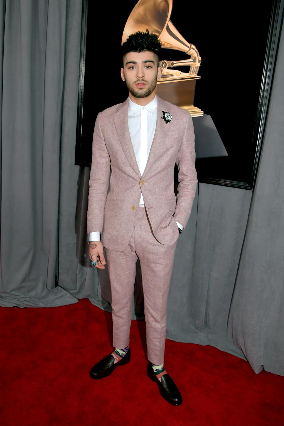 Zayn Malik had also criticised the Grammy Awards and its processes. (Photo by Lester Cohen/Getty Images for NARAS)