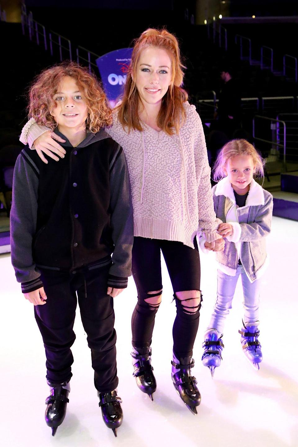 Disney On Ice presents Dare To Dream Celebrity Skating Party