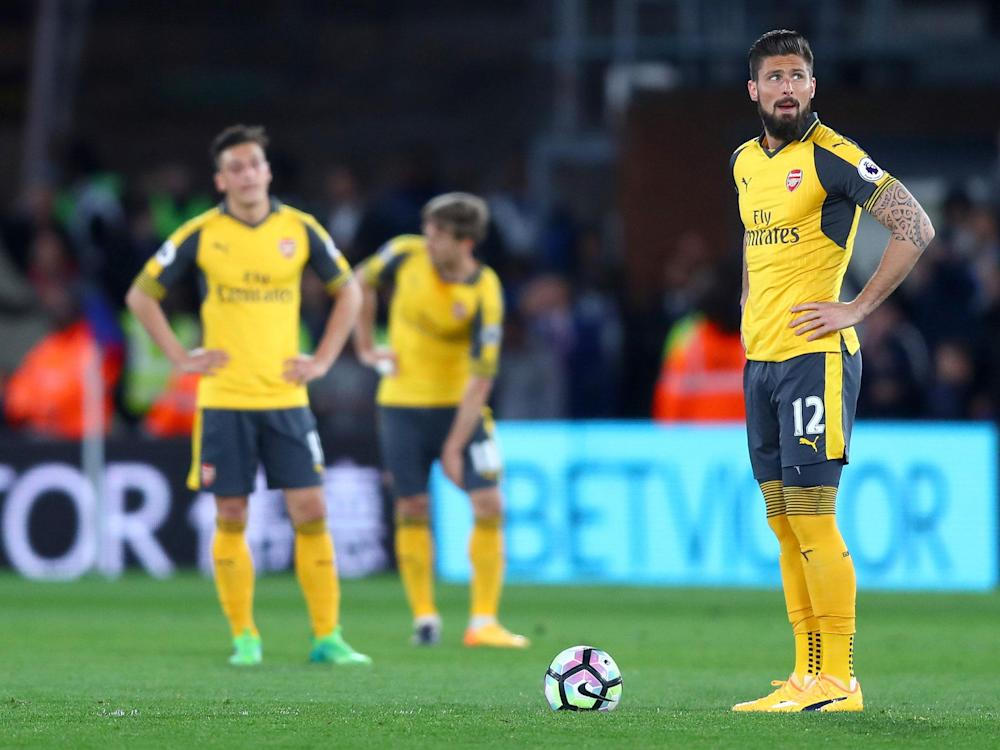 Arsenal's season has gone from bad to worse over the last two months: Getty