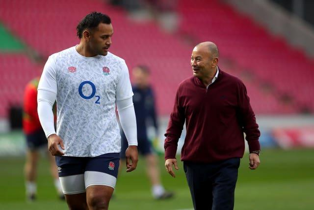Billy Vunipola is Eddie Jones' first choice number eight