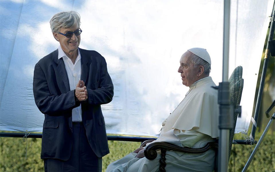 """<p>He is widely considered the most progressive pope ever to head the Catholic Church, so it's not surprising Hollywood is giving the Argentinian-born Pope Francis the doc treatment. Three-time Oscar nominee Wim Wenders follows the pontiff around the globe for a film """"intended to be a personal journey"""" rather than a pure biographical look. 