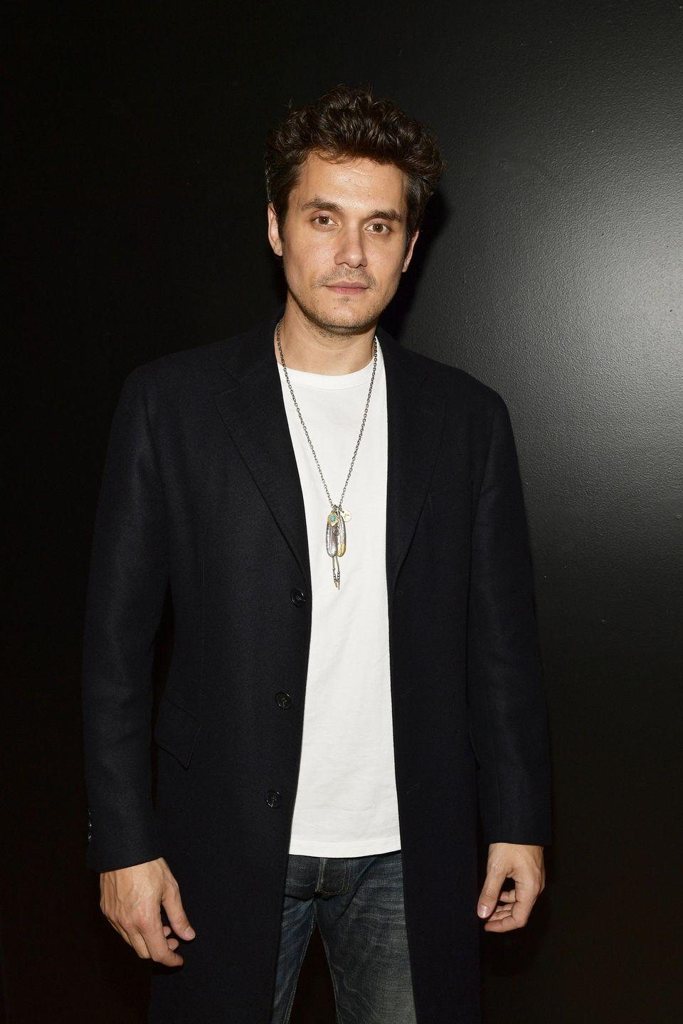 "<p>The 'Gravity' singer told <a href=""https://www.complex.com/style/john-mayer-fear-of-god-jerry-lorenzo-2018-cover-story"" rel=""nofollow noopener"" target=""_blank"" data-ylk=""slk:Complex"" class=""link rapid-noclick-resp"">Complex</a> magazine in 2018 that it was after Drake's 30th birthday party and a six day hangover than he decided to stop drinking.</p><p>'I looked out the window and I went, ""OK, John, what percentage of your potential would you like to have? Because if you say you'd like 60, and you'd like to spend the other 40 having fun, that's fine,""' he told Complex. '""But what percentage of what is available to you would you like to make happen? There's no wrong answer. What is it?"" I went, ""100.""'</p>"