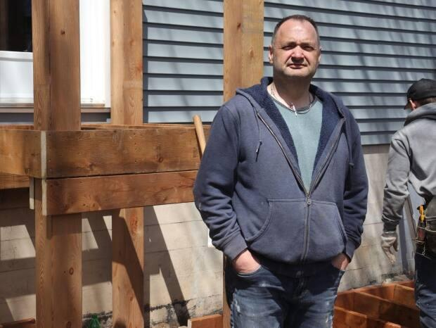 Trevor Oates was astonished when the estimate came in to replace a deck damaged by Snowmageddon in early 2020.