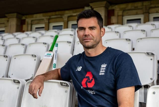 James Anderson will be helped will be helped in his bid to overcome his recent calf troubles by Premier League champions Manchester City (Steven Paston/PA Images).