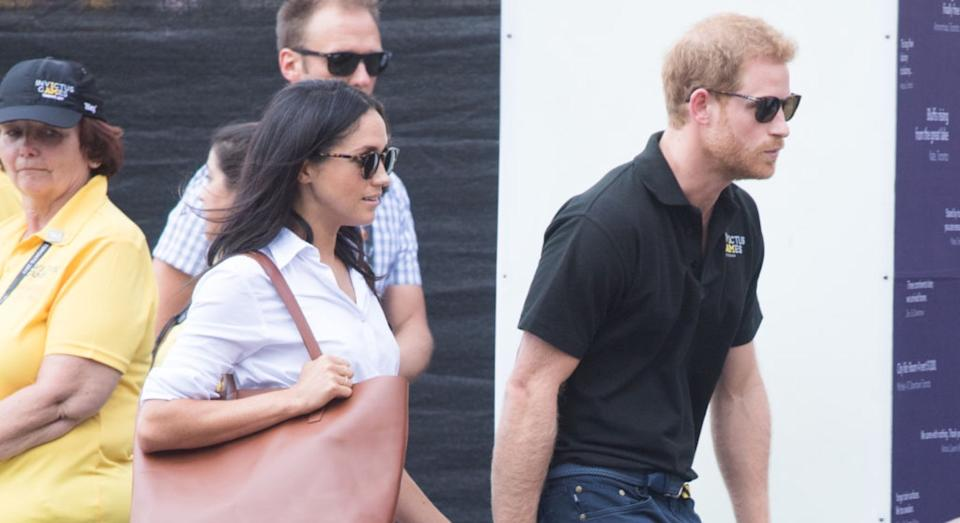 Meghan Markle's favourite bag brand has 60% off. (Getty Images)