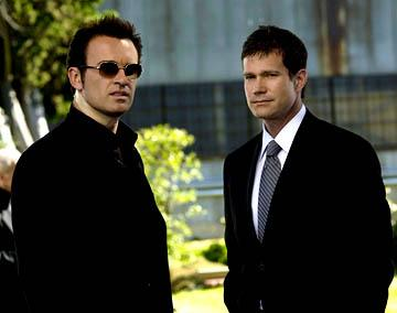 Julian McMahon and Dylan Walsh in 'Nip/Tuck'