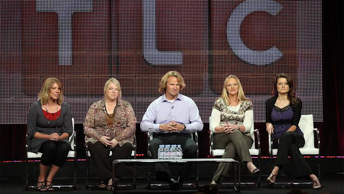 """'Sister Wives,' a reality TV series on TLC, aims to show how Kody Brown and his family navigate life in a world that seems to shun their lifestyle. <span class=""""copyright"""">Photo by Frederick M. Brown/Getty Images</span>"""