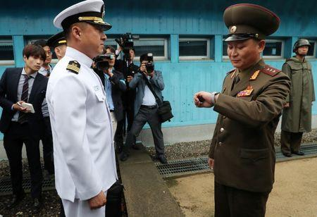 North Korea denies role in mine blasts that maimed two South Koreans
