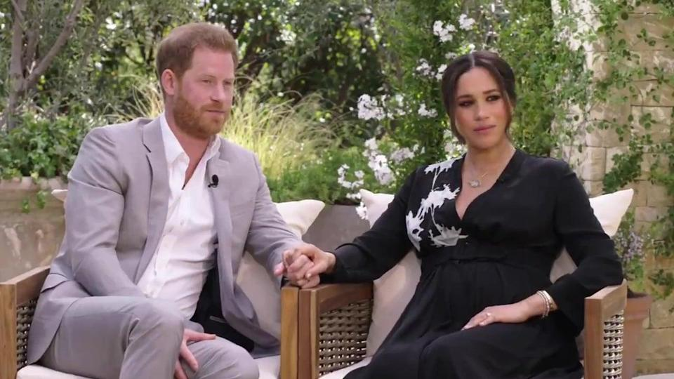 """Nothing is """"off limits"""" in the Sussexes' chat with WinfreyCBS"""