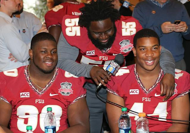 Former Florida State lineman Ira Denson charged as accessory to first-degree felony