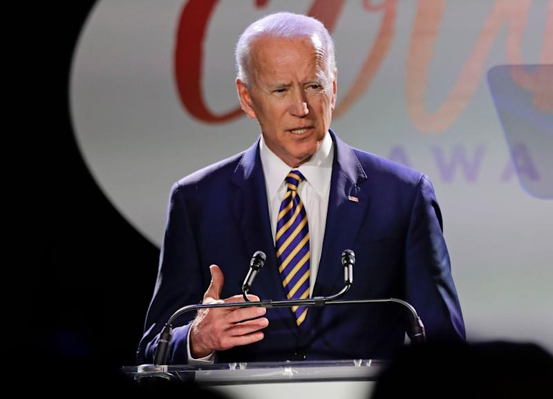Former Vice President Joe Biden. (Photo: Frank Franklin II/AP)