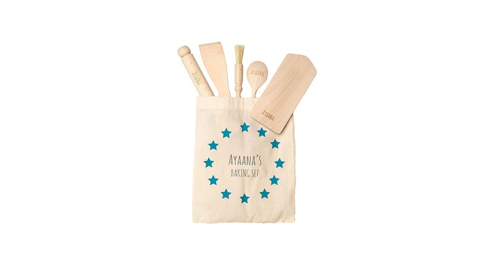 Personalised Toddler Baking Set