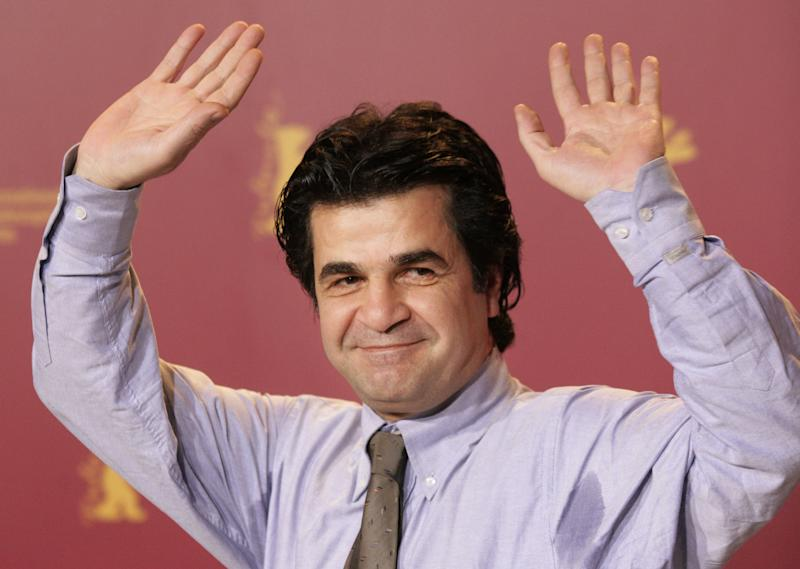 FILE - In this Feb. 17, 2006, file photo, Iranian film director Jafar Panahi as he attends the 56th Berlin Film Festival 'Berlinale' in Berlin. Martin Schulz, the president of the European Parliament, announced  Friday Oct. 26, 2012 that the 2012 Sakharov Prize for Freedom of Thought  will be won by Iranian dissidents Jafar Panahi and  Nasrin Sotoudeh. (AP Photo/Jan Bauer, File)