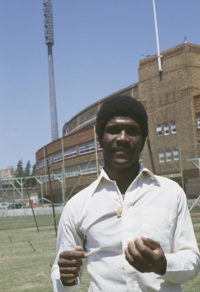 West Indian cricketer Lawrence Rowe, circa 1975. (Photo by Getty Images)