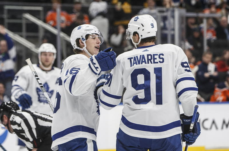 Maple Leafs cruise to 4-1 victory over Oilers