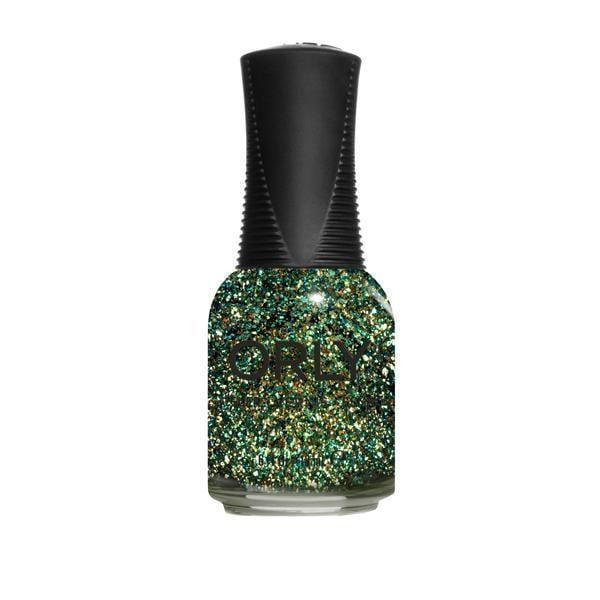 "<p>""I'm dreaming of nonexistent holiday parties and hoping a festive nail polish will give me the same feeling. <span>Orly Nouveau Riche</span> ($10) is a green and gold shimmer that's both fancy and fun - like a bejeweled Christmas tree. And the formula goes on even, making it super easy to <a class=""link rapid-noclick-resp"" href=""https://www.popsugar.com/DIY"" rel=""nofollow noopener"" target=""_blank"" data-ylk=""slk:DIY"">DIY</a>."" - Dawn Davis, senior editorial director, Group Nine Media</p>"