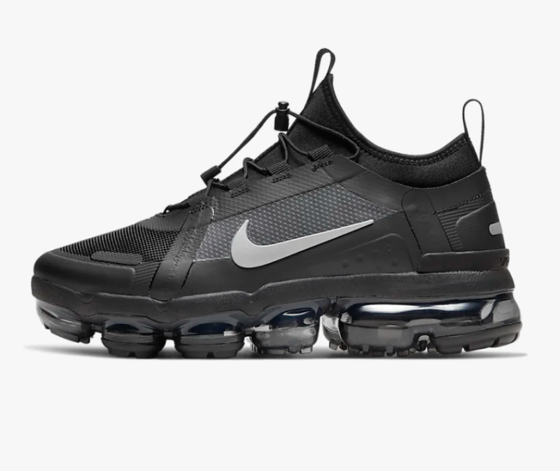 Nike Women's Air VaporMax 2019 Utility in Black, White, and Reflect Silver
