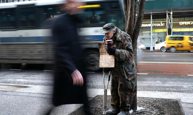 It is estimated that more than 76,000 people in New York City are homeless.