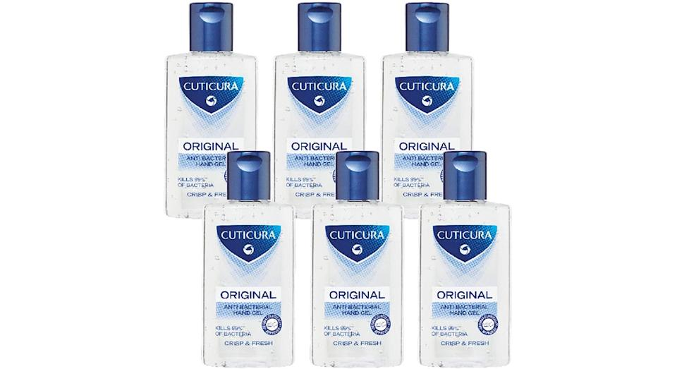Cuticura Original Anti Bacterial Hand Gel 100ml (Pack of 6