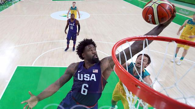 "<a class=""link rapid-noclick-resp"" href=""/ncaaf/players/255448/"" data-ylk=""slk:DeAndre Jordan"">DeAndre Jordan</a> has appreciated the opportunity to bond with some of his rivals. (Reuters)"