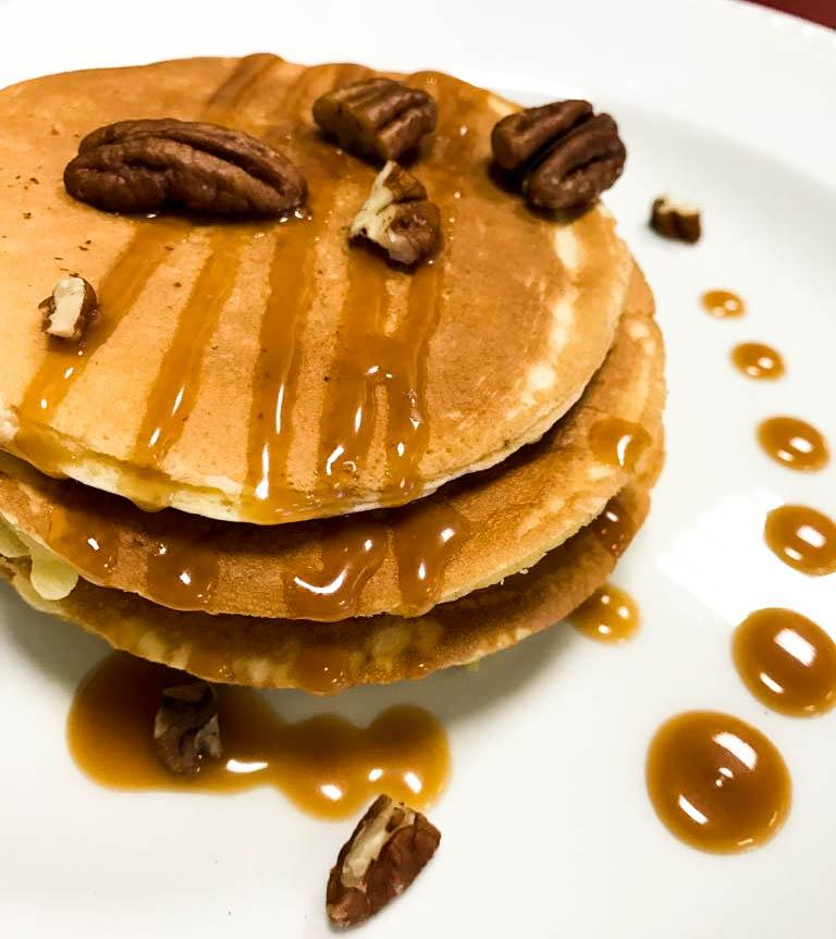 "<p>If one pancake isn't enough for you, how about 'all you can eat'? Visit <a rel=""nofollow"" href=""http://www.cosmo-restaurants.co.uk"">Cosmo</a>, where you can watch your mix go into one of its high-tech machines and wait for a perfectly-formed pancake to come out the other end! You can help yourself to toppings from sweets, syrups and even melted chocolate from Cosmo's very own chocolate fountain. Just keep going until you're done! [Photo: Samphire] </p>"