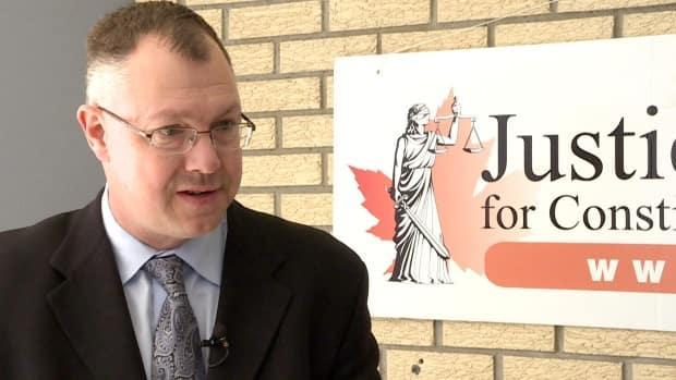 Earlier this week, Justice Centre for Constitutional Freedoms president John Carpay  admitted to hiring a private investigator to surveil a Manitoba judge who is presiding over a court challenge the centre is leading. He is now on an indefinite leave of absence.  (CBC - image credit)