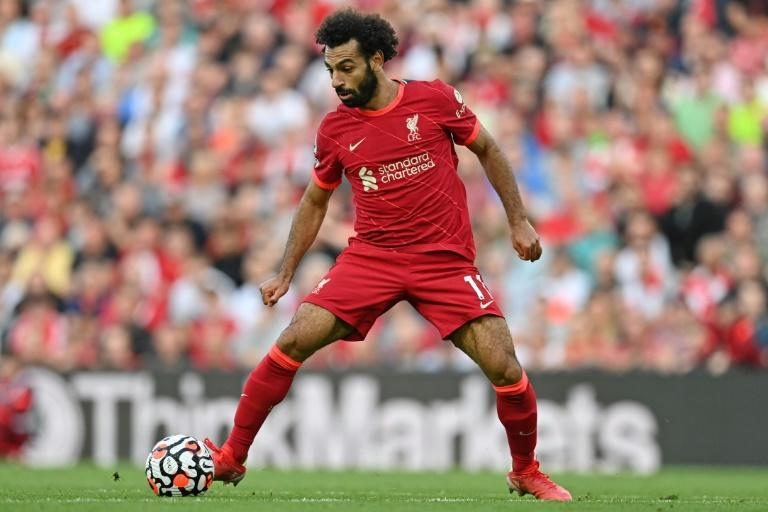 Liverpool star Mohamed Salah controls the ball during a drawn English Premier League match against Chelsea at the weekend (AFP/Paul ELLIS)