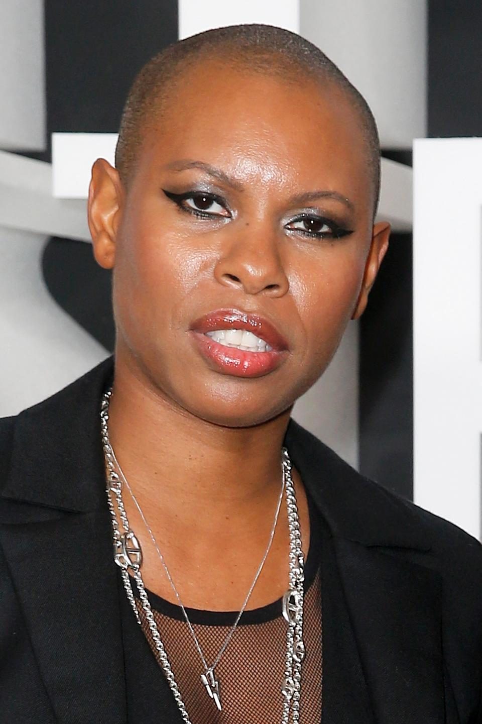 NEW YORK, NEW YORK - OCTOBER 22: Skin of Skunk Anansie attends the Nordstrom NYC Flagship Opening Party on on October 22, 2019 in New York City. (Photo by Dominik Bindl/WireImage)