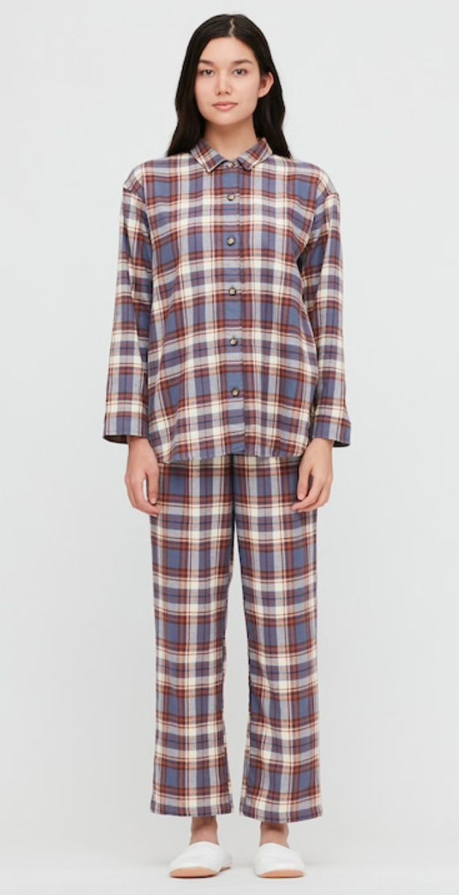 "<h3><a href=""https://www.uniqlo.com/us/en/women-flannel-long-sleeve-pajamas-430751.html?dwvar_430751_color=COL63"" rel=""nofollow noopener"" target=""_blank"" data-ylk=""slk:Uniqlo Flannel Long-Sleeve Pajamas"" class=""link rapid-noclick-resp"">Uniqlo Flannel Long-Sleeve Pajamas</a></h3><br>Keep her cozy during the cold winter months with this classic flannel pajama set.<br><br><strong>Uniqlo</strong> Flannel Long-Sleeve Pajamas, $, available at <a href=""https://go.skimresources.com/?id=30283X879131&url=https%3A%2F%2Fwww.uniqlo.com%2Fus%2Fen%2Fwomen-flannel-long-sleeve-pajamas-430751.html%3Fdwvar_430751_color%3DCOL63"" rel=""nofollow noopener"" target=""_blank"" data-ylk=""slk:Uniqlo"" class=""link rapid-noclick-resp"">Uniqlo</a>"