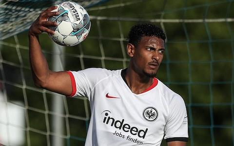 <span>Haller flew into London for a medical and with West Ham hoping to quickly push through a deal</span> <span>Credit: BONGARTS </span>