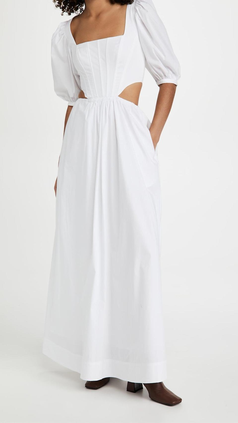 <p>We're swooning over this <span>Staud Astro Dress</span> ($375).</p>