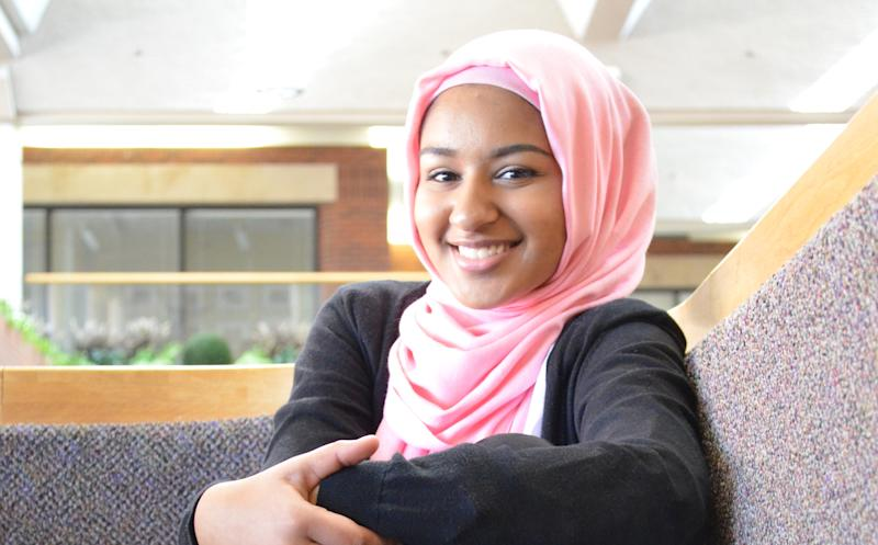 Arshia Hussain is a 17-year-old from Brooklyn Park, Minnesota.