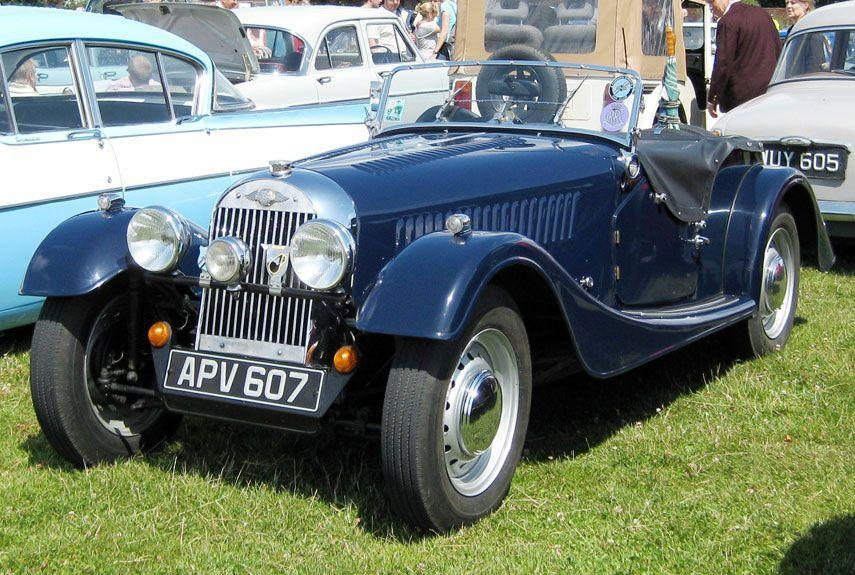 <p>Traditional style blended with more modern concepts of size and weight, the Plus 4 was an attractive option on the English auto market. It eventually shared an engine with the Triumph TR3.</p>
