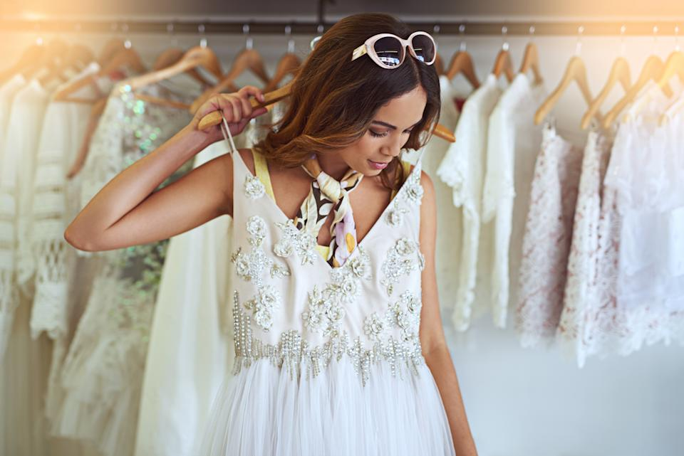 The woman was trying on wedding dresses and threw a tantrum when her partner refused to pay for the dress. Photo: Getty