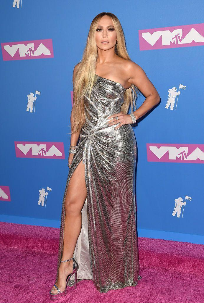<p><strong>When: </strong>August 2018</p><p><strong>Where:</strong> MTV Video Music Awards</p><p><strong>Wearing: </strong>Versace</p>