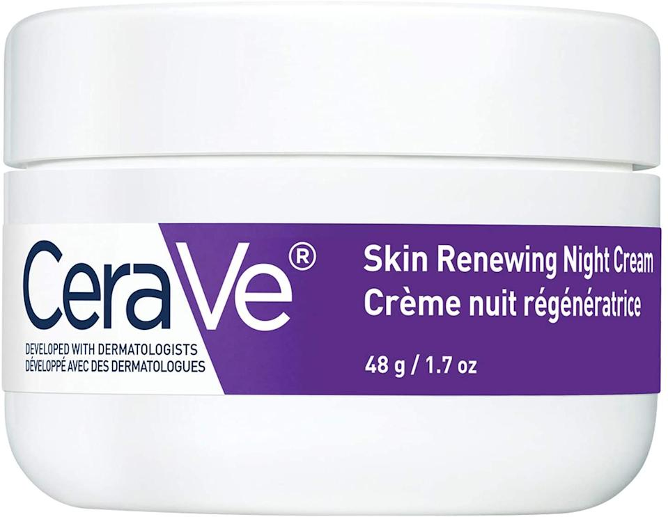 CeraVe Night Cream for Face | Skin Renewing Night Cream With Hyaluronic Acid & Niacinamide