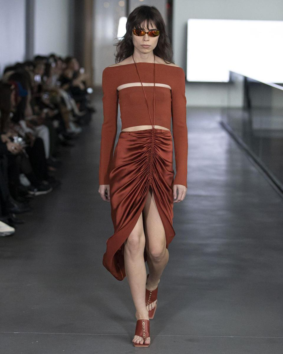 <p>A traditional fall hue is here to remind you it never went out of style.</p><p><em>Dion Lee</em></p>