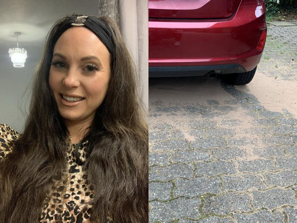 Jenni Turner had petrol stolen from her car in south-east London. (SWNS)
