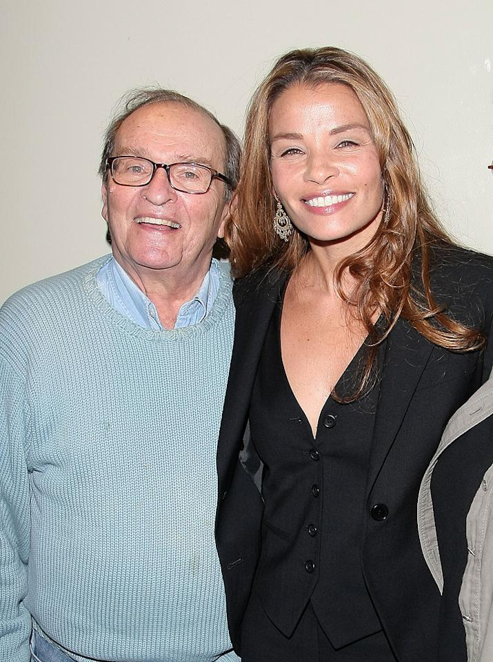 """<a href=""""http://movies.yahoo.com/movie/contributor/1800010507"""">Sidney Lumet</a> and <a href=""""http://movies.yahoo.com/movie/contributor/1800128952"""">Jenny Lumet</a> at the Cinema Society New York City premiere of <a href=""""http://movies.yahoo.com/movie/1809961213/info"""">Rachel Getting Married</a> - 09/25/2008"""