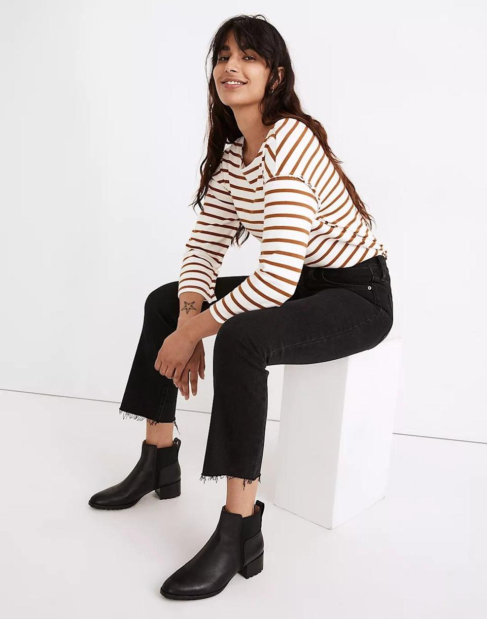 <p><span>Madewell Cali Demi-Boot Jeans in Edmunds Wash</span> ($135)</p>