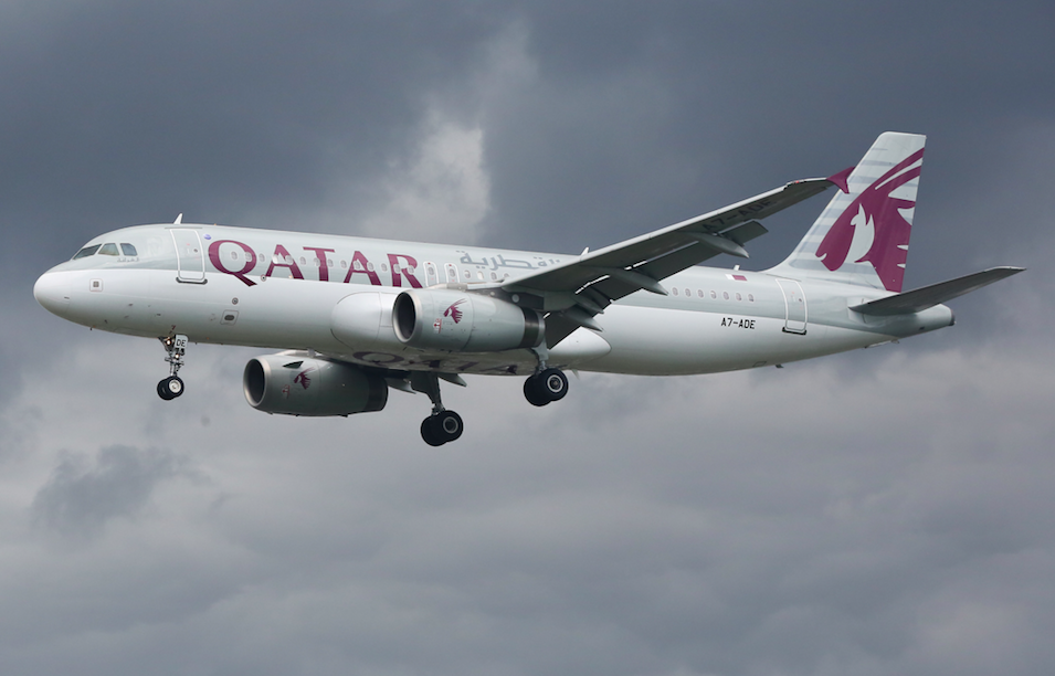 <em>The Qatar Airways flight had to make an emergency stop when the woman found out about her husband's affair (Rex/stock photo)</em>