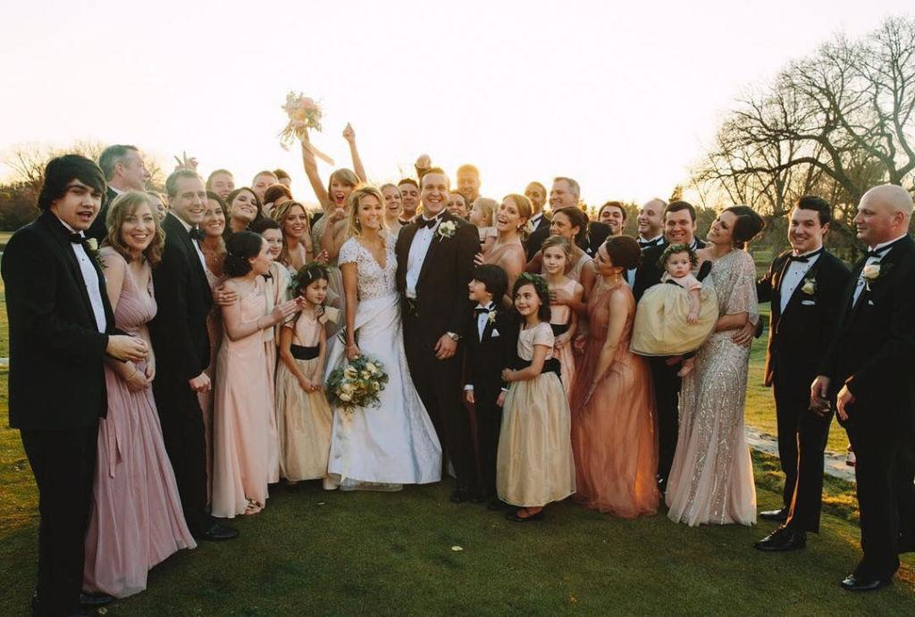 <p>As any good bridesmaid knows, it's not about you—it's about the bride. And yes, this goes even for celebrities. While they're typically in the spotlight, these women took to the sides of their favorite brides to help celebrate their big days. Take a look at these star bridesmaid photos.</p>