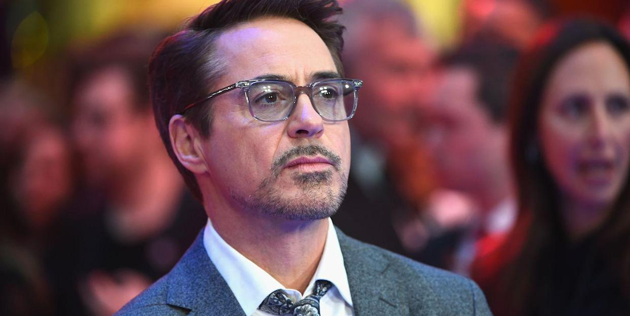 """Robert Downey Jr. stood by """"Tropic Thunder"""" and its characters when the film was released. (Getty)"""