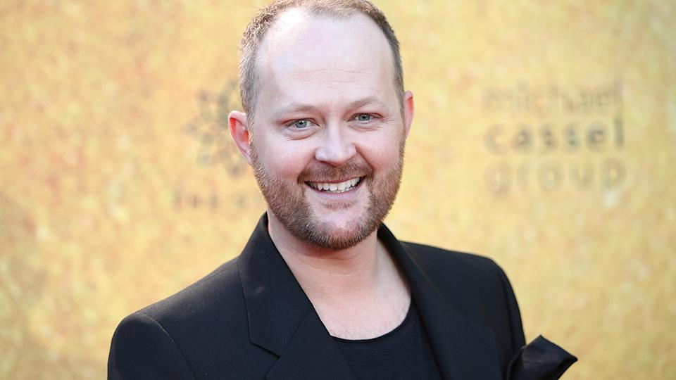 Michael Cassel, pictured here at the Australian premiere of Hamilton in Sydney.