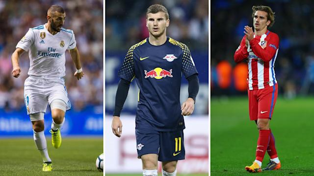 Karim Benzema has said he 'likes Arsenal', while Timo Werner and Antoine Griezmann are apparently 'ready for moves' too